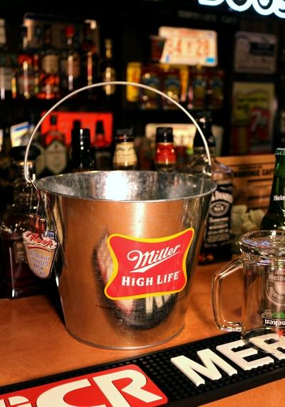 ミラーバケツ ミラービール雑貨 ミラービール雑貨 アメリカ雑貨通販  アメリカ雑貨屋サンブリッヂ SUNBRIDGE 岩手雑貨屋