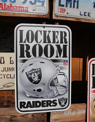 アメフト看板 レイダース看板 NFL アメフト看板通販 アメリカ雑貨屋 サンブリッヂ通販