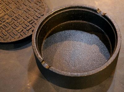 マンホール灰皿 ニューヨークマンホール灰皿 面白灰皿 サンブリッヂ アメリカ雑貨通販 通販商品 通販商品