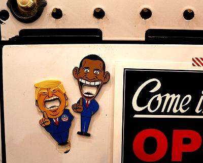 ドナルドトランプオープナー オバマ栓抜き アメリカ大統領グッツ アメリカ雑貨屋 サンブリッヂ