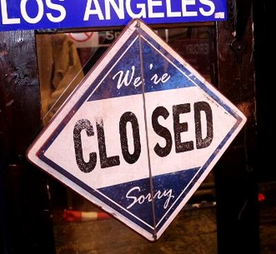 OPEN看板 CLODED看板  オープンクローズ両面看板 スクエア看板 アメリカ雑貨屋 サンブリッヂ 通販