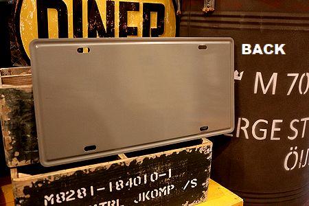 バックトゥザフューチャー看板 デロリアン ナンバープレート ライセンスプレート アメリカン雑貨通販 アメリカ雑貨屋 サンブリッヂ