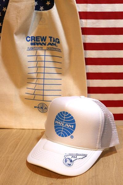 パンナムキャップ パンナム帽子 パンナムメッシュキャップ PANAM雑貨通販 アメリカ雑貨屋 サンブリッヂ アメリカン雑貨 通販