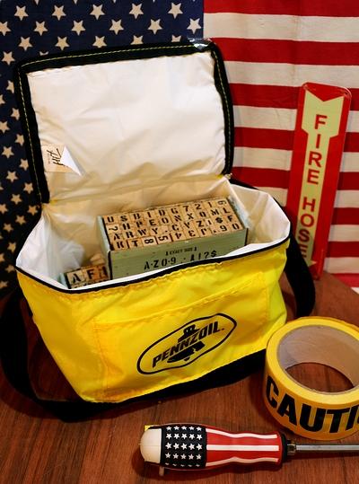ペンゾイルクーラーバッグ ペンゾイルクーラーバッグ ペンズオイル雑貨通販 アメリカ雑貨屋 サンブリッヂ アメリカン雑貨通販