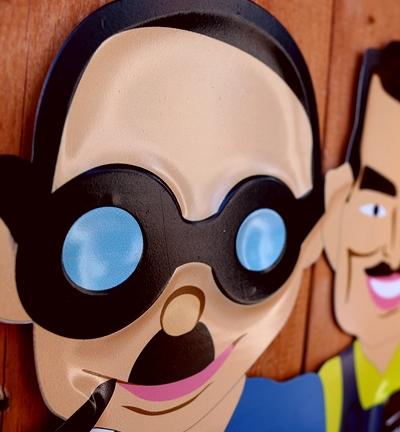 ペップボーイ看板 ペップボーイスチールエンボスサイン カー用品看板 PepBoys アメリカ雑貨屋 サンブリッヂ