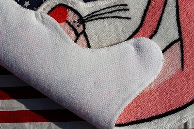 ピンクパンサーマット アメリカンフロアマット ピンクパンサー アメリカ雑貨屋 サンブリッヂ アメキャラ通販