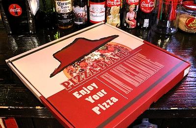 ピザラウンドプレート ピザ柄メラミン皿 直径33cm アメリカ雑貨屋 サンブリッヂ