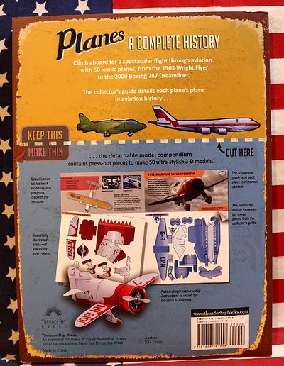 ペーパークラフトブッグ飛行機 戦車ペーパークラフトブッグ クラフトブッグ 飛行機コレクターズブッグ アメリカ雑貨屋