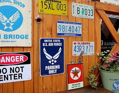 エアフォース看板 プラサイン AIRFORCE アメリカ雑貨屋 サンブリッヂ