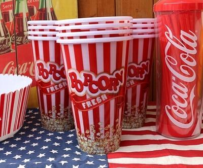 ポップコーンカップ ポップコーンケース ポップコーン アメリカ雑貨屋 サンブリッヂ 通販