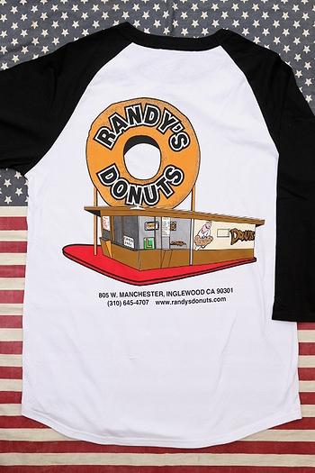 ランディドーナツ LAドーナッツ RANDY'S DONUTSTシャツ 映画アイアンマン アメリカ雑貨屋 サンブリッヂ 通販