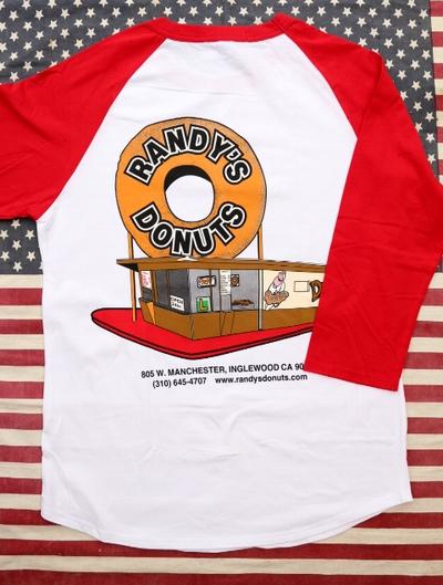 ランディドーナッツ LAドーナッツ RANDY'S DONUTSTシャツ 映画アイアンマン アメリカ雑貨屋 サンブリッヂ 通販