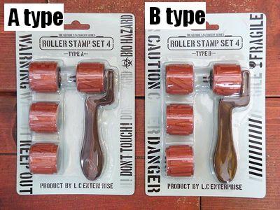 ステンシル スタンプ ローラー STAMP ROLLER SET セット STENCIL アメリカ雑貨 SUNBRIDGE 雑貨 通販 サンブリッヂ