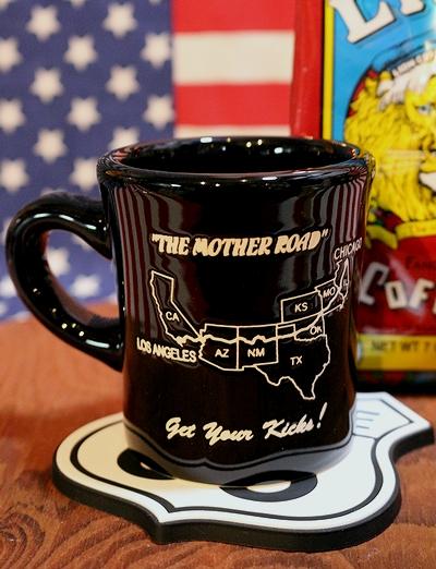 ルート66マグカップ ROUTE66マグカップ アメリカンマグカップ 66ロードマップアメリカ雑貨屋 サンブリッヂ 通販