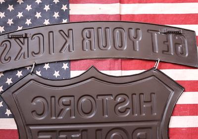 ルート66看板 エンボスロードサイン アメリカ雑貨屋 サンブリッヂ