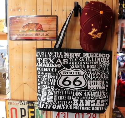 ルート66トートバッグ ROUTE66バッグ ママバッグ パパバッグ アメリカ雑貨屋 サンブリッヂ