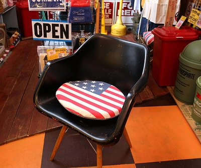 チェアーパッド 座布団 星条旗 アメリカ雑貨屋