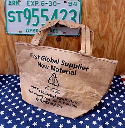 トスダイスバッグ リサイクルバッグ リサイクルペーパーバッグ ミリタリーバッグ 雑貨通販 サンブリッヂ