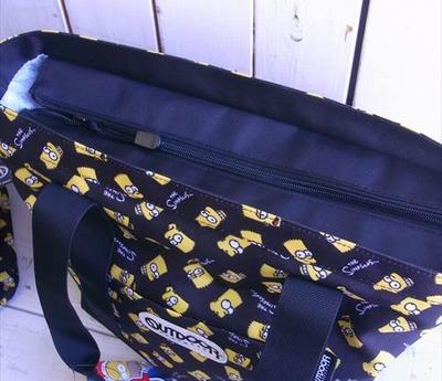 シンプソンズ アウトドアコラボバッグ シンプソンズトートバッグ simpsons アメキャラ アメリカ雑貨屋 サンブリッヂ 通販