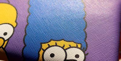シンプソンズポーチ マスクポーチ マスク入れ シンプソンズペンケース アメリカ雑貨通販 サンブリッヂ 通販商品