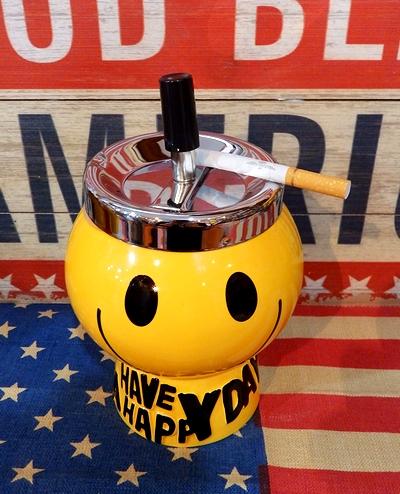 スマイルスピン灰皿 アメリカ雑貨屋 サンブリッヂ