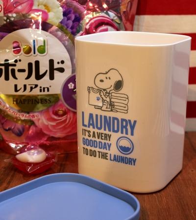 スヌーピージェルボールケース スヌーピー洗剤ケース 洗濯洗剤入れ物 アメリカ雑貨通販 サンブリッヂ 通販