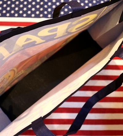 スパムバッグ スパム雑貨 スパムレジャーバッグ SPAM アメリカ雑貨屋 サンブリッヂ USA雑貨通販