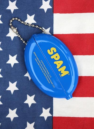 スパムコインケース コインケース キーホルダー SPAM アメリカ雑貨屋 サンブリッヂ アメリカン雑貨 通販