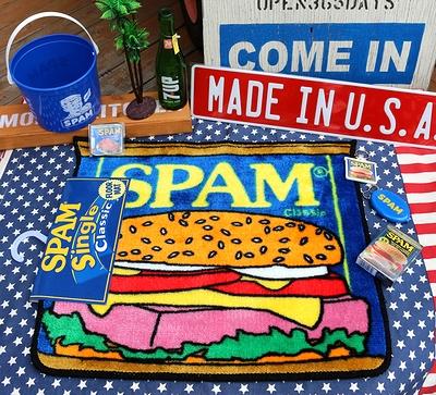 スパム雑貨 スパムキーホルダー スパムキーホルダー SPAM アメリカ雑貨屋 サンブリッヂ アメリカン雑貨 通販