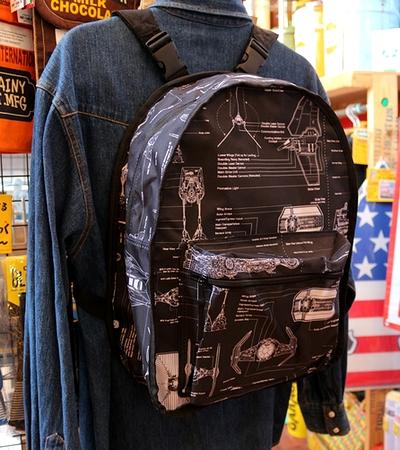 スターウォーズバックパック ボバ・フェットリバーシブルリュック STAR WARS アメリカ雑貨屋 サンブリッヂ スターウォーズ通販