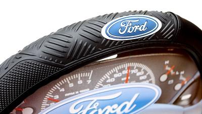 フォードハンドルカバー ステアリングホイールカバー FORD アメリカ雑貨屋 サンブリッヂ
