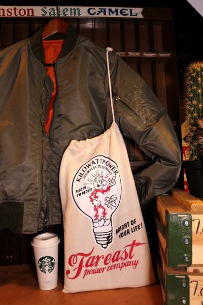 レディキロワットスウェット巾着 レディーラックスウェットバッグ 巾着  REDDY KILOWATT アメリカ雑貨屋 サンブリッヂ 通販