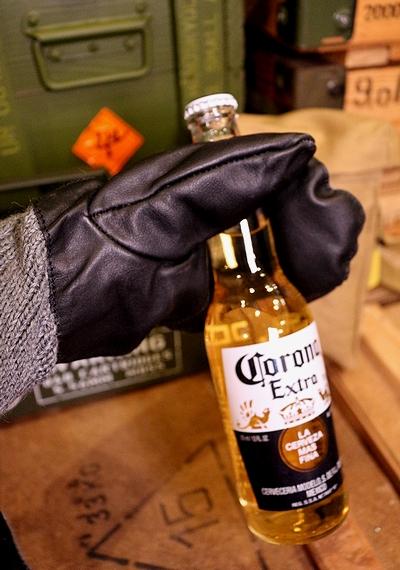 スイス軍手袋 ミリタリー手袋 スイス軍ウールレザーミトン AIRFORCE アメリカ雑貨通販 SUNBRIDGE サンブリッヂ