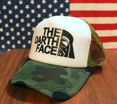 ザダースフェイスキャップ ダースベイダーメッシュキャップ アメリカ帽子 アメリカ雑貨屋 サンブリッヂ キャップ通販