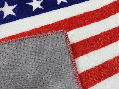 トイレマット USAF USA UNION フラッグ 星条旗 ROUTE66 アメリカ雑貨屋 SUNBRIDGE