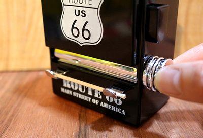 つまようじホルダー つまようじホルダーアメリカン ルート66爪楊枝ホルダー アメリカ雑貨通販 サンブリッヂ 通販商品