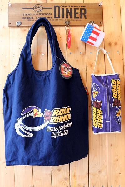 ロードランナーコットンキャンバストートバッグ トートバッグ アメリカ雑貨屋 サンブリッヂ アメリカン雑貨 通販