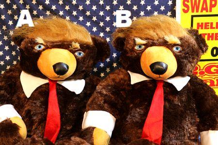 トランプ大統領グッズ トランプベア トランプぬいぐるみ アメリカ雑貨屋   サンブリッヂ アメリカン雑貨通販