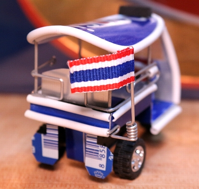 ペプシトゥクトゥク アルミ缶トゥクトゥク タイ雑貨 ペプシ雑貨 アメリカン看板 雑貨通販 SUNBRIDGE サンブリッヂ