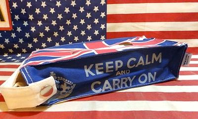 ユニオンジャックティッシュカバー 壁掛けひも付きティッシュケース UK イギリス雑貨 アメリカ雑貨屋 サンブリッヂ