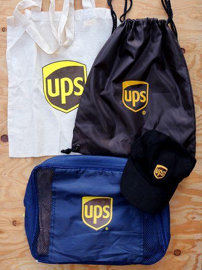 UPSナップサック エコバッグ 巾着 ポーチ UPS アメリカ雑貨屋 サンブリッヂ