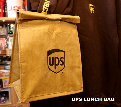 UPSランチバッグ UPS弁当入れ UPSクーラーバッグ アメリカ輸送会社グッズ アメリカ雑貨通販 アメリカ雑貨屋 サンブリッヂ