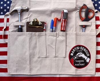 ワーキングエプロン 男前エプロン オシャレ作業エプロン DIY アメリカ雑貨屋 サンブリッヂ 雑貨通販