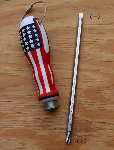アメリカドライバー USAスクリュードライバー アメリカ柄工具 アメリカンガレージ アメリカ雑貨屋 SUNBRIDGE