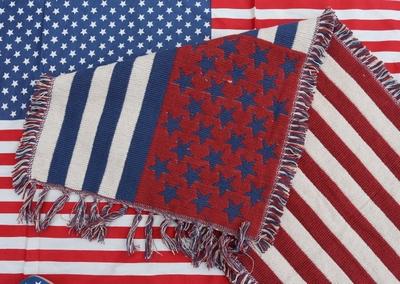 星条旗ロングマット アメリカンキッチンマット USA ラグマット アメリカ雑貨屋 サンブリッヂ
