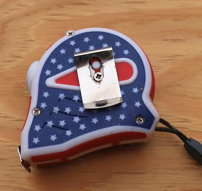 USAメジャー アメリカメジャー 星条旗メジャー 巻尺 アメリカ工具 DIY アメリカンガレージ アメリカ雑貨屋 SUNBRIDGE