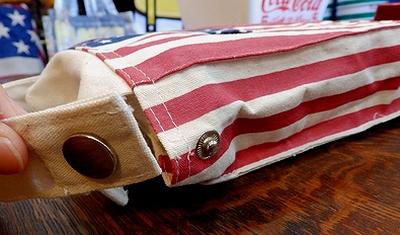 アメリカ国旗柄ティシュケース 壁掛けティッシュカバー USA アメリカ雑貨屋 サンブリッジ SUNBRIDGE
