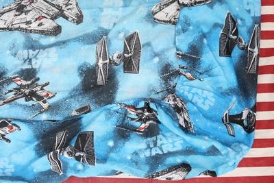 スターウォーズシーツ ベッドシーツ アメキャラベッドシーツ STARWARS リメイク生地 アメリカ雑貨屋 サンブリッヂ 通販