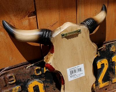 アメリカフラッグカウスカル 牛スカルの壁掛け ネイティブアメリカン雑貨 ウエスタン アメリカ雑貨屋 サンブリッヂ 通販