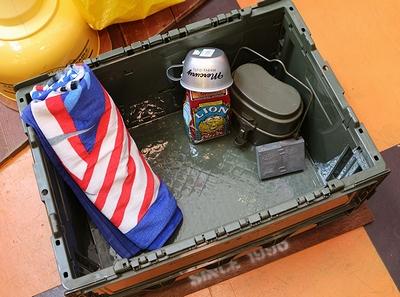 森林局コンテナケース U.S FOREST SERVICE コンテナボックス 収納ボックス アウトドア用品 アメリカ雑貨屋 サンブリッヂ 通販